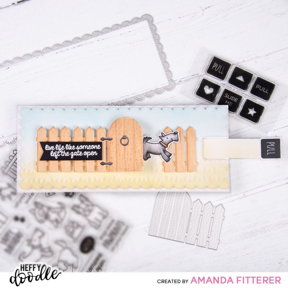 Pull Tab Add-On Stamps