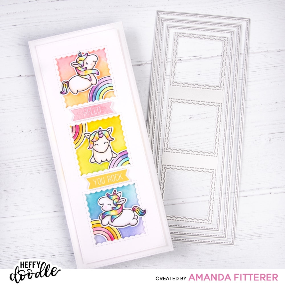Bold Banner Sentiment Stamps