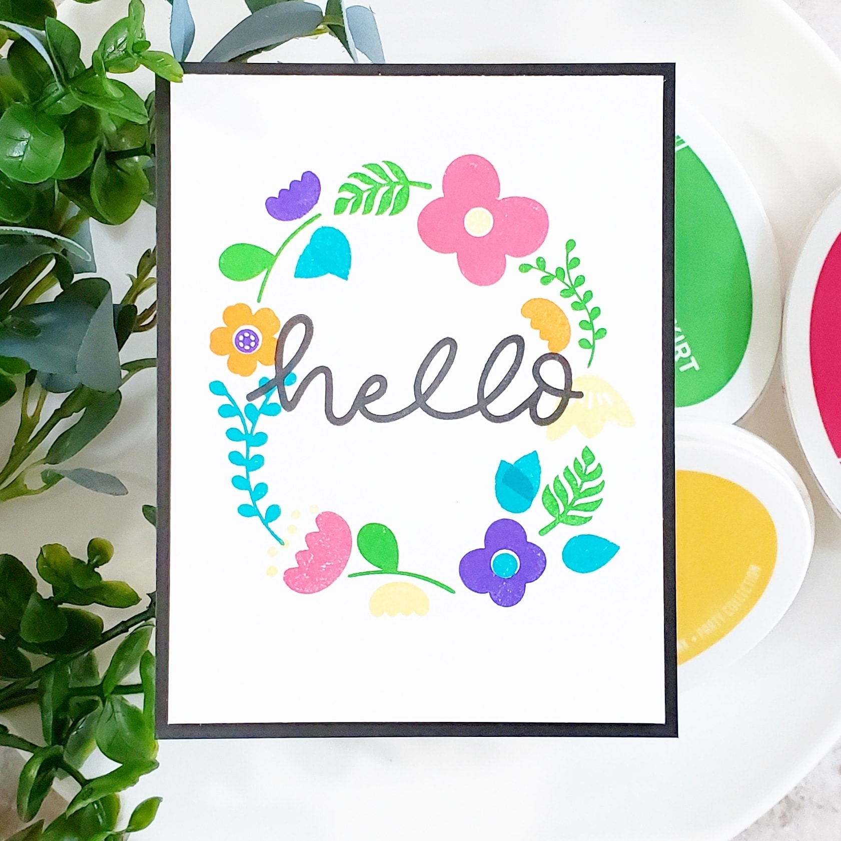 Hello Everyone Clear Stamps