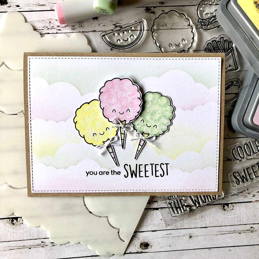 Treat Yo'Self Clear Stamps