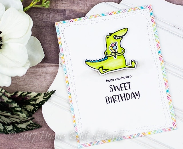 Happy Snappy Crocs Clear Stamp Set