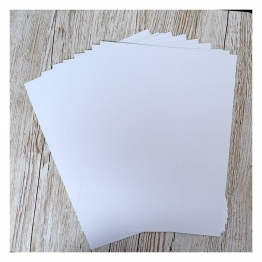 "White Cardstock - 8.5 x 11"" - 20 Sheets"
