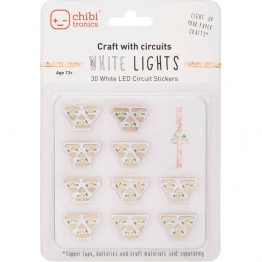 Chibitronics White LED Mega Pack
