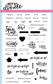 Interactively Yours Stamp Set