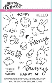 Honey Bunny Boo Clear Stamp Set