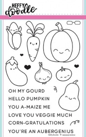 Veggie Patch Clear Stamp Set