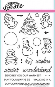 Wanna Build A Snowman Clear Stamp Set