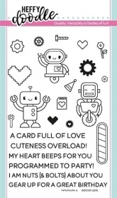 Bots of Love Clear Stamps