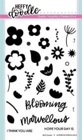 Blooming Marvellous Clear Stamps