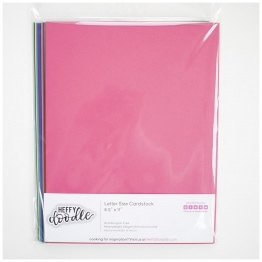 "Multi Pack 8.5"" x 11"" Cardstock (24 Sheets)"