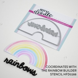 Rainbow Builder Coordinating Die