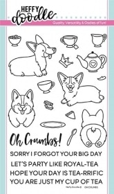 Oh Crumbs Clear Stamps