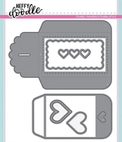 Heart Gift Card Pocket Die