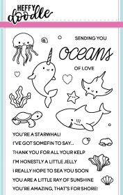 Oceans of Love Clear Stamp Set