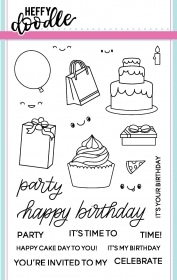 Party Palooza stamp set