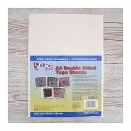 A4 Double Sided Adhesive Sheets
