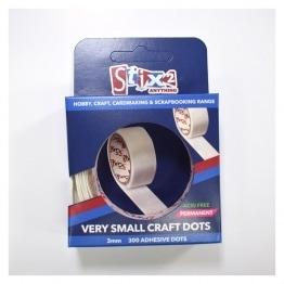 Very small Craft Glue Dots - 3mm