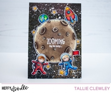 Spaced Out Clear Stamps