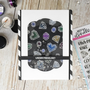 Geology Rocks Clear Stamp Set