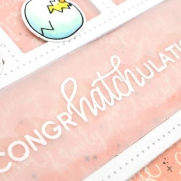 Eggcellent News Clear Stamp Set