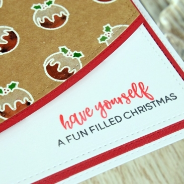 Elfing Christmas Words Stamp Set