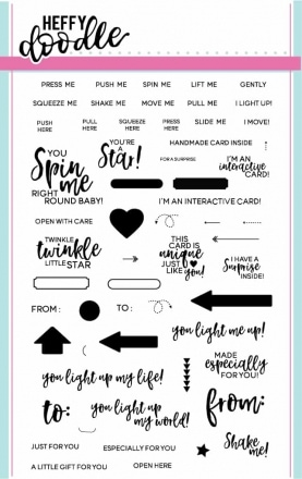 Interactively Yours Clear Stamp Set
