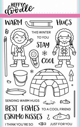 Warm Hugs Clear Stamp Set