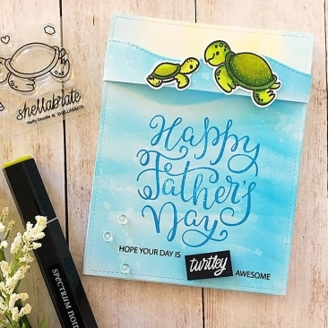 Shellabrate Clear Stamp Set
