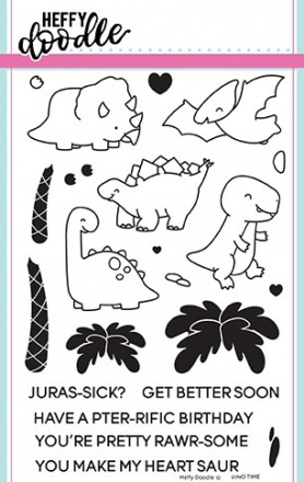 Dino Time Clear Stamp Set