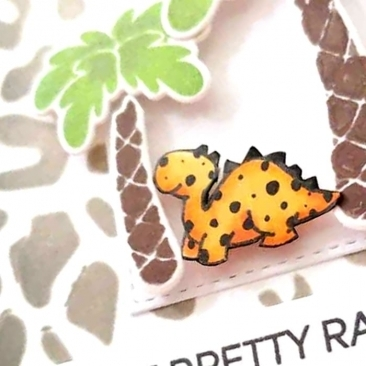 Dinky Dinos Clear Stamps