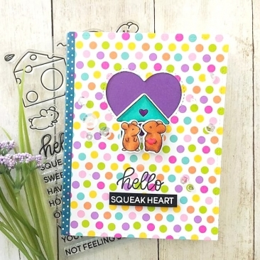 Hello Squeakheart Clear Stamp Set