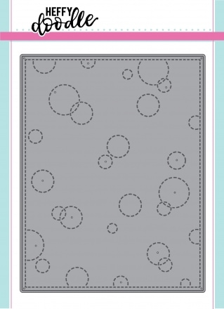 Stitched Bubble Background die
