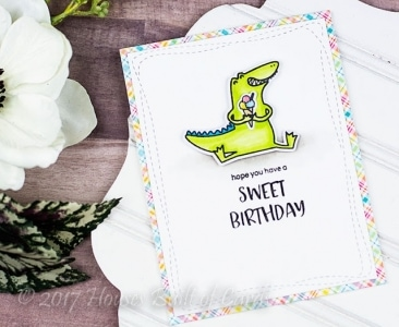 Happy Snappy Crocs Stamp Set