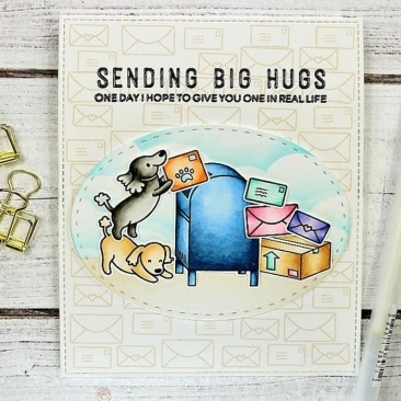 Everyday Sentiment Duos Clear Stamp Set