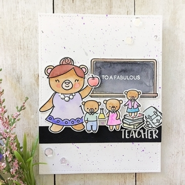 Teacher's Pet Clear Stamp Set