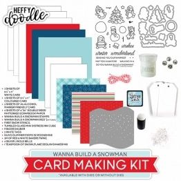 Wanna Build A Snowman Card Making Kit