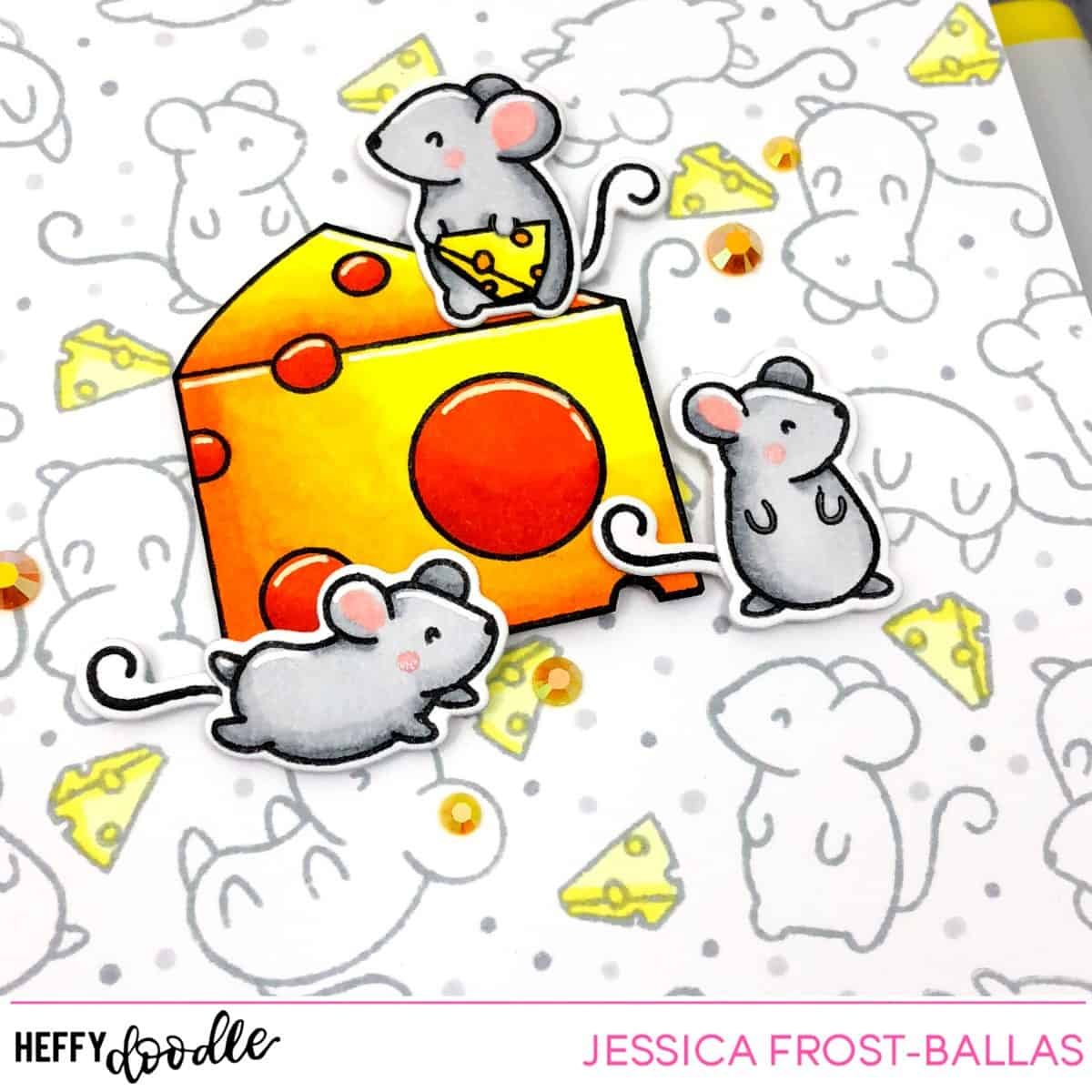 You Are Such a Gouda Friend by Jessica Frost-Ballas for Heffy Doodle