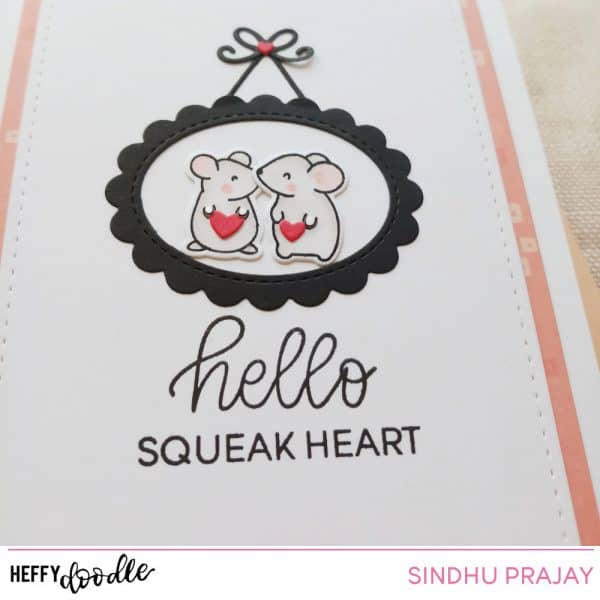 Hello Squeak heart clean and simple design
