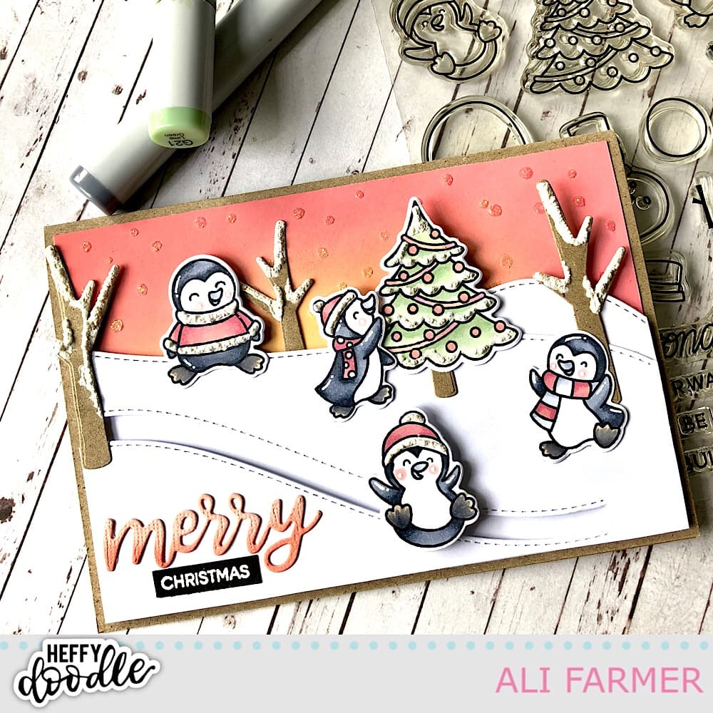 Christmas cards – Heffy Doodle