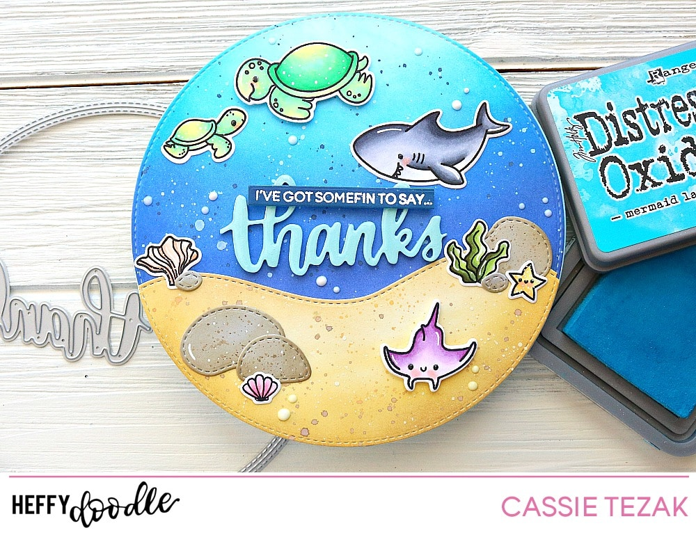 3893cffb6f It's Cassie here, and I'm back to share another card with you today. Ever  since I saw Sindhu's cute circle shaped card waaaaayyyy back when the last  release ...