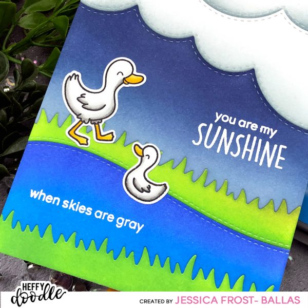 You Are My Sunshine by Jessica Frost-Ballas for Heffy Doodle