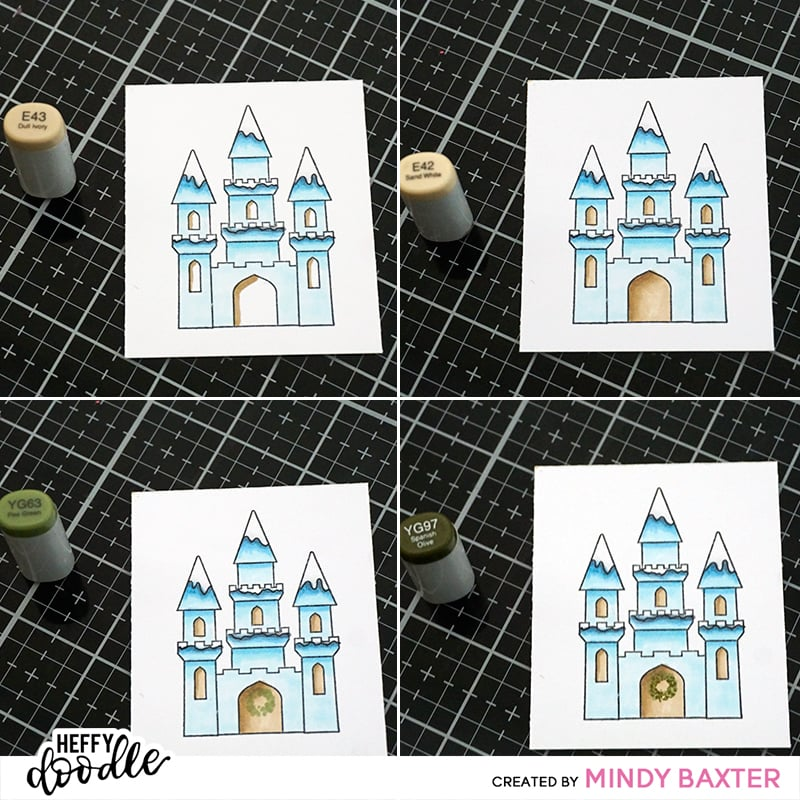 Color your stamps to fit the Holidays by Mindy Baxter