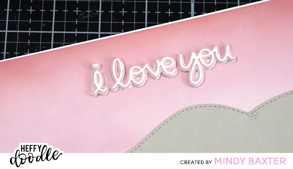 Step by Step Valentine Card by Mindy Baxter