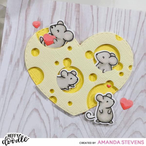 Hello Squeakheart Cheese Heart Amanda Stevens 2