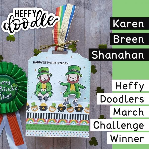 Heffy Doodlers Challenge Winner March 2020