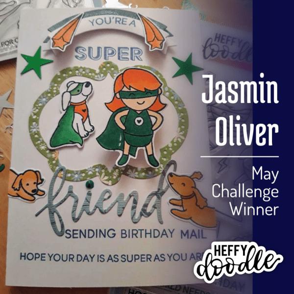 Heffy Doodlers May 2020 Challenge Winner